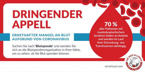 Donate Blood German