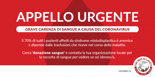 Donate Blood Italian